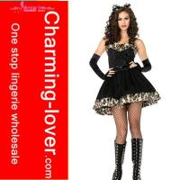 China sexy cat animial party costume wholesale