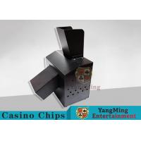 China Black Automatic Casino Game Accessories For Cutting Off Broken Poker Cards wholesale