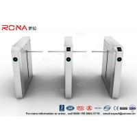 China Drop Arm Turnstile 13.56Mh RFID Durable Security Pedestrian Barrier Gate Drop Arm For Public Facility wholesale