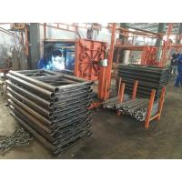 China 2 Tons 60m Orange Painted Rack And Pinion Hoist , Material Lifting Equipment wholesale
