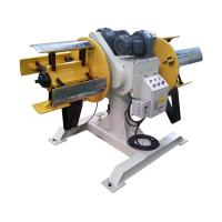 Buy cheap Double Head Steel Coil Uncoiler Decoiling Metal Coil To Sheet Strips MDW-200 from wholesalers