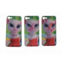 China Custom Iphone Cases Lenticular Flip With 0.6mm PET Eco - Friendly Material wholesale