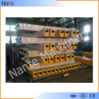 China HRC45-48 Steel Gantry Crane / Bridge Crane End Trucks 1 ton - 100 ton wholesale