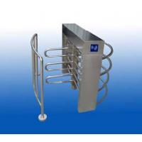 China Mechanical Type 3-arm Obstacle Security Turnstile Gate For Children With Rail wholesale