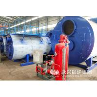 China 3 Ton Industrial Gas Fired Hot Water Boiler 2.1MW No Explosion Risk Simple Operation wholesale