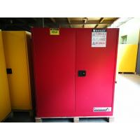 Quality Red Flammable Combustible Storage Cabinets Two Vents Single Door for sale