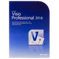 Quality English Version Microsoft Office Visio 2016 Download Trial Retail License for sale