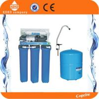 China 100 - 200GPD Commercial Water Filter Drinking Water Filtration Systems Auto Flush Type wholesale