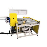 China Automatic Steel Coil Wrapping Machine With Adjustable Take Up Arm Φ30-65mm wholesale