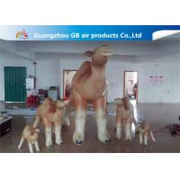 China Customized Cartoon Shape Inflatable Camel Animal Model For Event Party wholesale
