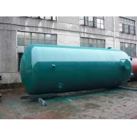 China 12 Ton Dual - Axle Super Insulation Vertical Air Compressor Tank Replacement wholesale