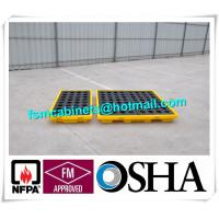 Quality Oil Tank Storage HDPE Drum Spill Containment Deck, Spill Deck for 220L Oil Drum for sale