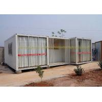 China 20Ft / 40Ft Container House Folding Container Homes Cold Formed Steel Profile wholesale