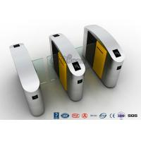 Quality Turnstile Barrier Gate Waist Height RFID Turnstile Security Systems Automatic for sale