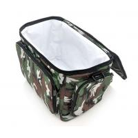 Quality 600D Polyester Camo Color Fishing Bag with 3.6W Solar Panel And 2200mAh Back-up Battery for sale