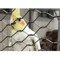 China Stainless Steel 304/316 Aviary Mesh Small hole flyproof Parrot Cage house fence wholesale