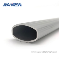 China Naview Customized Manufacturers Oval Aluminum Extrusion wholesale
