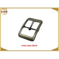 China Fashion Silver Plated Custom Zinc Alloy Metal Pin Belt Buckle / Tri Glide Buckle wholesale