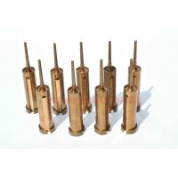 Be - Cu Injection Molding Pins And Sleeves With Polish Surface Treatment