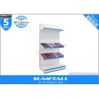 Buy cheap Steel Supermarket Display Racks  , Jura White Commercial Display Shelves For Stores product