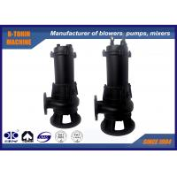 China Casting Submersible Sewage Pump , flow rate 40m3/h centrifugal water pump wholesale