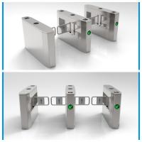 China Two Sides Intelligent Swing Barrier Gate Made Of 304 Stainless Steel Material wholesale