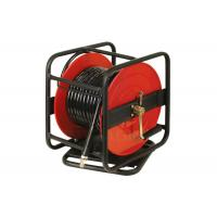 China Universal Rotation Air And Water Hose Reel For PU / PVC / Hybrid / Polymer Hose wholesale