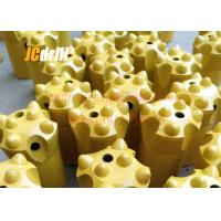 China 11° Tapered Button Rock Drill Bits For Small Hole / Quarry / Tunnel Bench Drilling wholesale