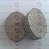 China Sintered porous metal filter disc 316L wholesale