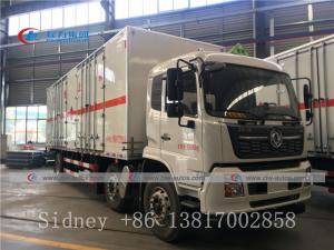 China 6X2 Dongfeng Frozen Lorry Refrigerated Van Truck with Thermo King Refrigerator wholesale