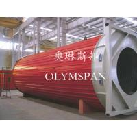 China Horizontal Heating Thermal Oil Boiler Electric For Wood , Safe Monitor Device wholesale