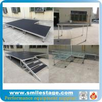 Buy cheap Outdoor aluminum modular stage for pillars truss system product