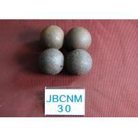 China Hot Rolling / Forged Grinding Steel Ball  for Mining and Cement Mill 62-63hrc Surface Hardness wholesale