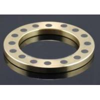 China Casting Aluminum Bronze Thrust Washer With Solid Lubricant 160 HB wholesale