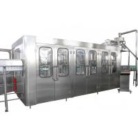 China High Capacity Automatic Drink Production Line 8000BPH With CE Certificate wholesale