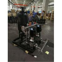 Buy cheap Frequency Control Water Supply Equipment Full Automatic Constant Pressure from wholesalers