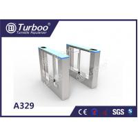 China Retractable Flap Barrier Office Security Gates Anti - Temperature And Sunscreen wholesale