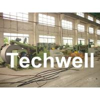 China Automatic Slitting Machine Line Composed of Uncoiler, Pinch / Leveling, Slitting, Recoiler wholesale