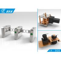China Biometric Entrance Gate Security Systems , Durable Turnstile Barrier Gate wholesale