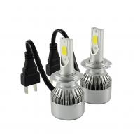 China Universal 12V LED Headlight Hot Car COB C6 Led Headlight With H7 6500K wholesale