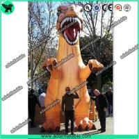 China 5m Printing Giant Decorative Dragon Inflatable Dinosaur For Outdoor Event Decoration T-REX wholesale