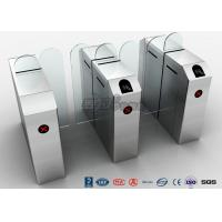 Quality Fastlane Turnstile Remote Control Access Control Turnstiles Tempered Glass Sliding for sale