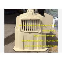 China Farm Equipment Steel Fence Plastic Dairy Calf Housing With Feeding Bucket wholesale