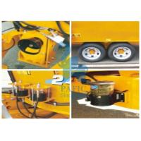 China Tulip Yellow Cattle Feed Mixing Machine , Small Feed Grinder Mixer For Dairy Farm wholesale