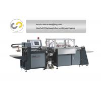 China Automatic hardcover case maker machine for calendar book cover making machine wholesale