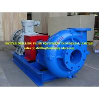 China BETTER Centrifugal Pump skid packages 10 x8x14 driven by ex-proof motor CNEx 90kw 1450prm wholesale