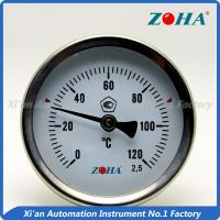 China Back Mount Bimetal Dial Thermometer For Controlling The Temperature wholesale