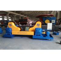 Welding Self - Aligning Rotators , Pipe Turning Rollers Motor Power