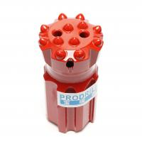 China T45-76mm Threaded Button Drill Bits Superior Drilling Performance With 14 Buttons wholesale