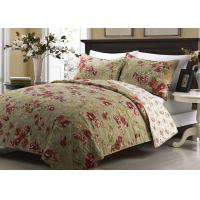 China Printed Machine Quilting Bedspreads And Coverlets 3pcs Color / Pattern Customized wholesale
